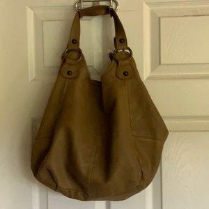 Looks new...TANO leather hobo bag